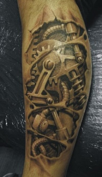 3d biomechanical hand art